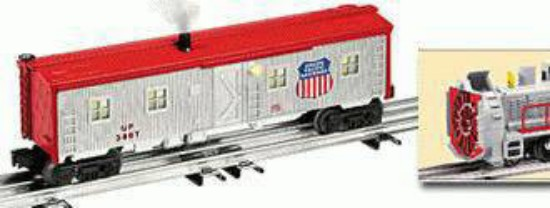 Picture of Union Pacific bunk car