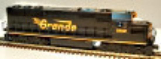 Picture of SD50 Diesel Locomotive - Denver & Rio Grande