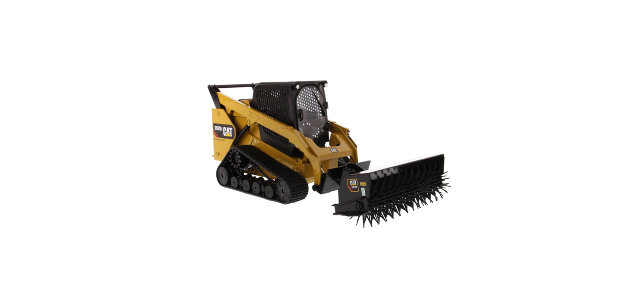 Picture of Caterpillar 297D2  Track Loader with Accessories