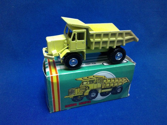 Picture of Foden quarry truck - light yellow