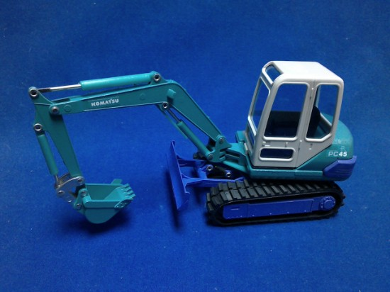 Picture of Komatsu PC45 mini excavator
