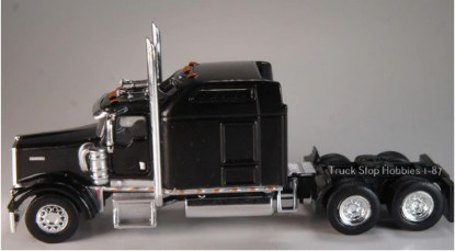 Picture of Kenworth W900L    Sleeper Cab - 2 Pack-black