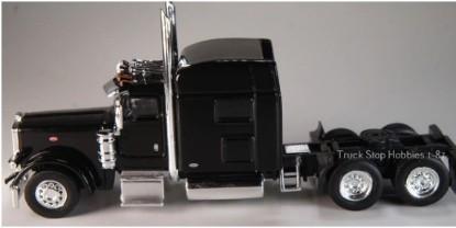 Picture of Peterbilt  389 3 Axle tractor/sleeper - 2 Pack -black