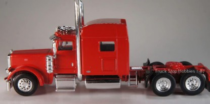 Picture of Peterbilt  389 3 Axle tractor/sleeper - 2 Pack - red