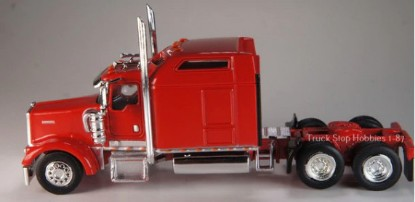 Picture of Kenworth W900L    Sleeper Cab - 2 Pack-red