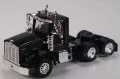 Picture of Kenworth T800  3 Axle  Daycab - 2 Pack- black