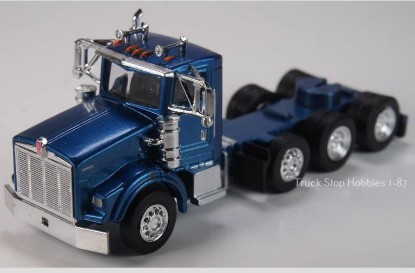 Picture of Kenworth T800  4 Axle  Daycab - 2 Pack -blue