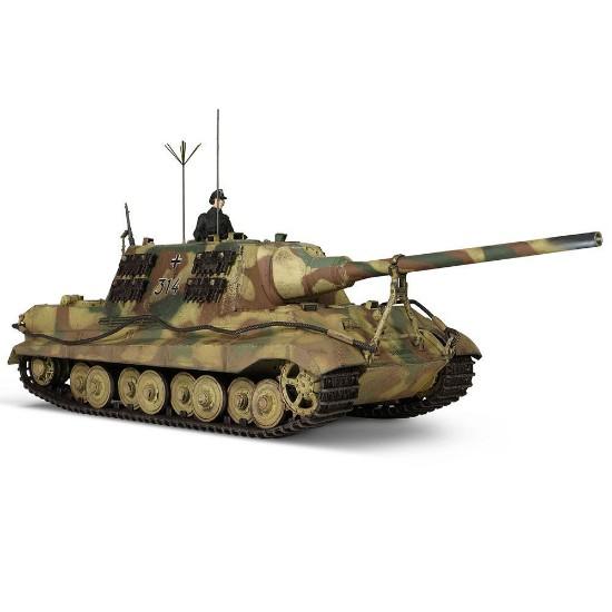 "Picture of German Sd.Kfz.186 Panzerjager Tiger Ausf. B heavy tank ""JagdTiger"", Porsche suspension"