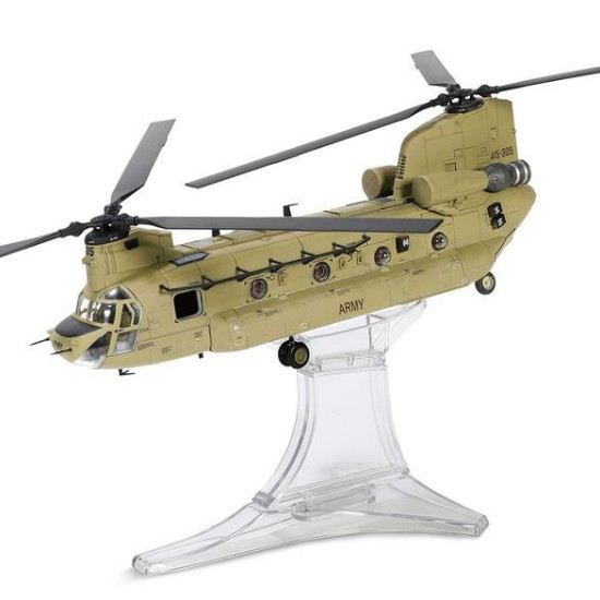 Picture of Boeing Chinook CH-47F helicopter (With Air filtration system & heat suppressing exhaust)