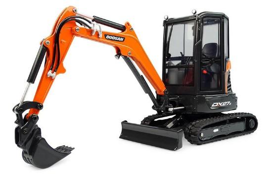 Picture of Doosan DX27Z mini excavator