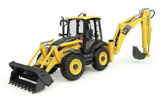 Picture of Komatsu WB97S-8 AU tractor loader backhoe
