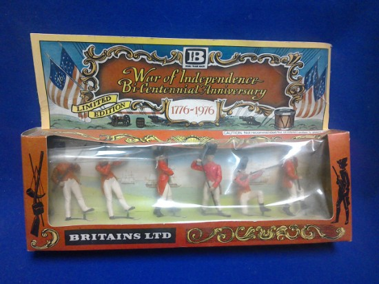 Picture of British Infantry 1776 -6 figures Swoppets