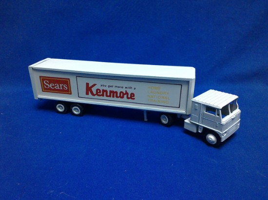 Picture of Tractor + box van   Sears Kenmore