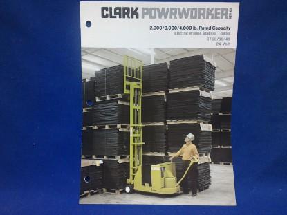 Picture of Clark Powrworker ST spec sheet