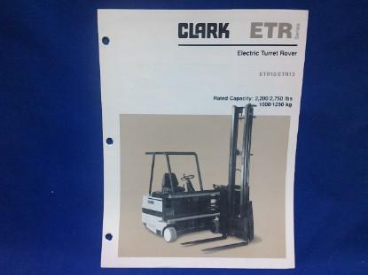 Picture of Clark ETR  spec sheet