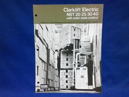 Picture of Clark NST 20/25/30/40  spec sheet
