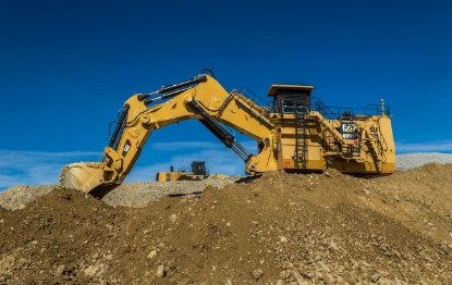 Picture of Caterpillar 6060 hydraulic mining excavator