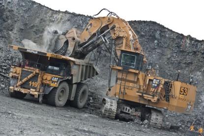 Picture of Caterpillar 6060 FS hydraulic mining shovel