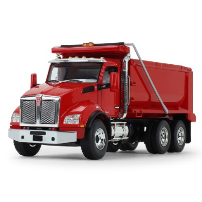 Picture of Kenworth T880 Dump Truck  - red