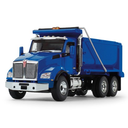 Picture of Kenworth T880 Dump Truck  - blue