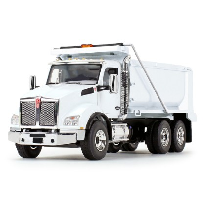 Picture of Kenworth T880 Dump Truck  - white
