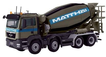 Picture of MAN TGS concrete mixer MATTHAI