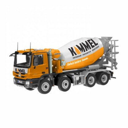 Picture of MB Actros MP3 concrete mixer - KAMMEL