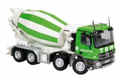 Picture of MB Actros MP3 concrete mixer - TBW