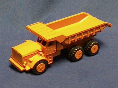 Picture of Euclid R40 dump truck   - orange