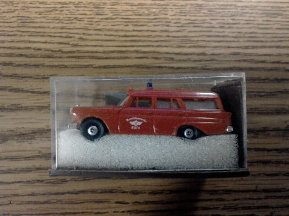Picture of Mercedes fire ambulance