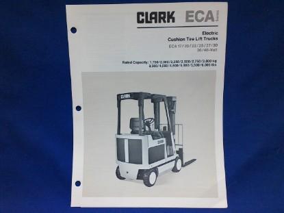 Picture of Clark ECA spec sheet
