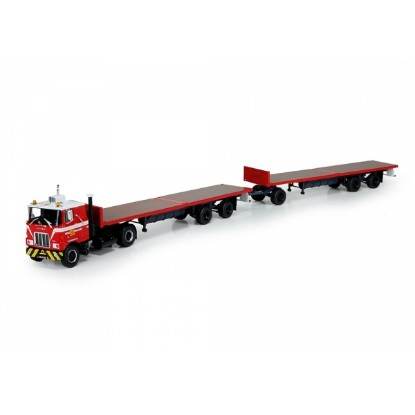 Picture of Mack F700 6x4 + 2 flatbed trailers SEDO