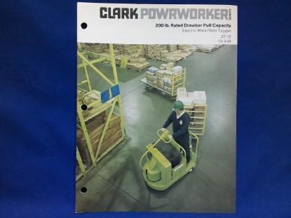 Picture of Clark Powrworker  spec sheet