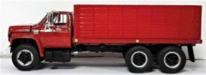 Picture of Chevrolet C-65 grain truck  red/red