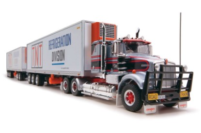 Picture of Kenworth road train reefer TNT (3 trailers)