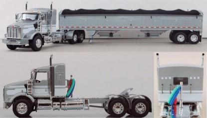 Picture of Kenworth T800 + Wilson grain trailer