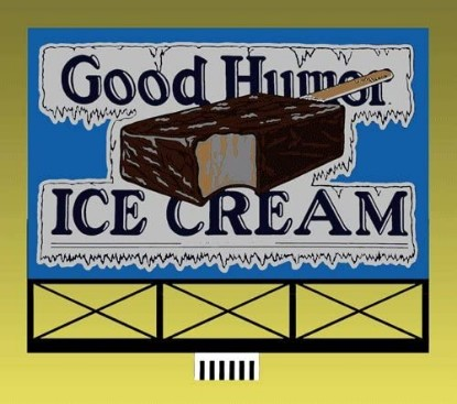 Picture of Good Humor Billboard  kit