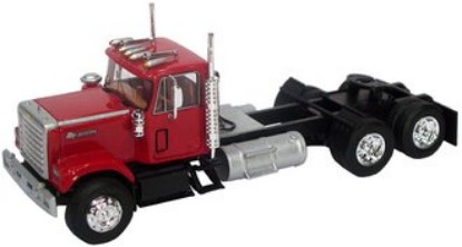 Picture of 1980 Chevy Bison daycab tractor - red