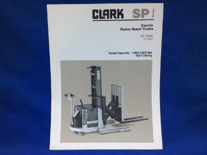 Picture of Clark Powrworker SP 20  spec sheet